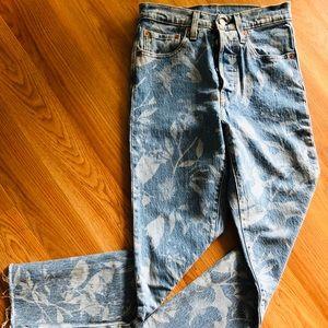 Levi's 501 Skinny * Premium Denim size 24